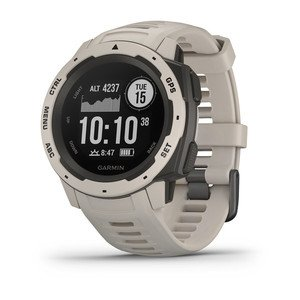 Cf md fa3a3717 bd88 4c1e 866a de53be33759e when you can rely on <strong>instinct™</strong>, the world can rely on you. This rugged gps watch is built to mil-std-810g and is water-rated to 100 meters. A built-in 3-axis compass and barometric altimeter plus multiple global navigation satellite systems help you track in more challenging environments. <ul> <li>rugged gps watch is water-rated to 100 meters and constructed to mil-std-810g for thermal, shock and water resistance</li> <li>built-in 3-axis compass and barometric altimeter plus multiple global navigation satellite systems (gps, glonass and galileo) track in more challenging environments than gps alone</li> <li>monitor your heart rate<sup>1</sup>, activity and stress, and train with preloaded activity profiles such as running, biking, swimming, hiking and more</li> <li>stay connected with smart notifications<sup>2</sup> and automatic uploads to the garmin connect™ online fitness community</li> <li>use the tracback® feature to navigate the same route back to your starting point; use the garmin explore™ website and app to plan your trips in advance</li> <li>battery life<sup>3</sup>: up to 14 days in smartwatch mode, up to 16 hours in gps mode, up to 40 hours in ultratrac™ battery saver mode</li> </ul>